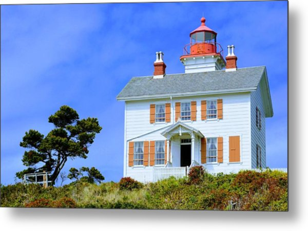 Yaquina Bay Lighthouse Metal Print