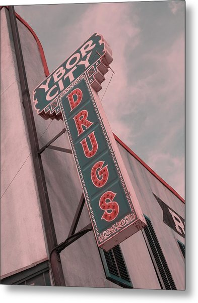 Ybor City Drug Metal Print