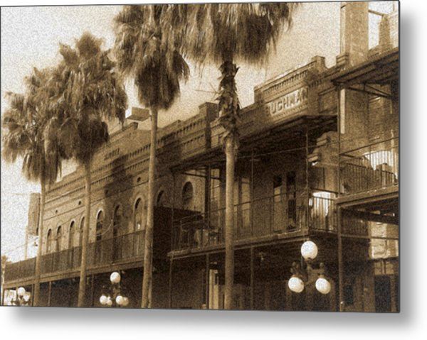 Ybor City Metal Print by Patrick  Flynn