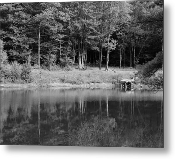 Ye Old Swimming Hole Metal Print