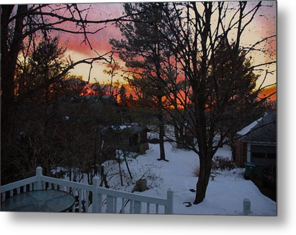 Year's End Two Thousand Ten Metal Print by Ross Powell