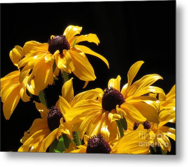 Yellow Flower 2 Metal Print