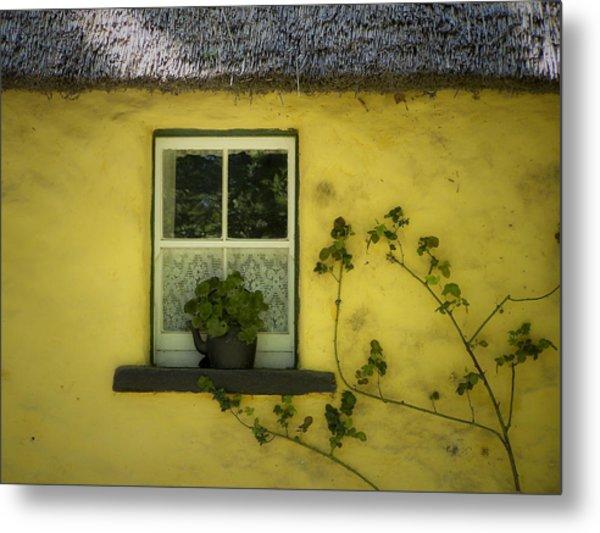 Yellow House County Clare Ireland Metal Print