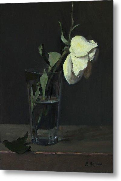 Yellow Rose No. 3 Metal Print