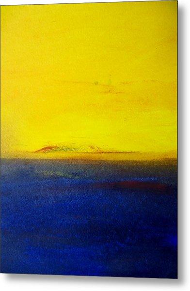 Yellow Sky 2 Metal Print