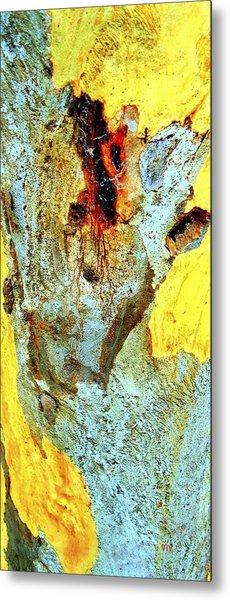 Yellow Tree - And  Ant  Australia Metal Print