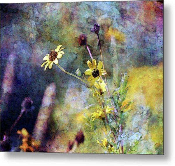Yellow Wildflowers 3230 Idp_2 Metal Print