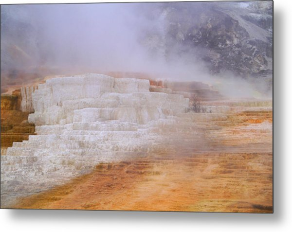 Metal Print featuring the photograph Yellowstone Magic by Broderick Delaney