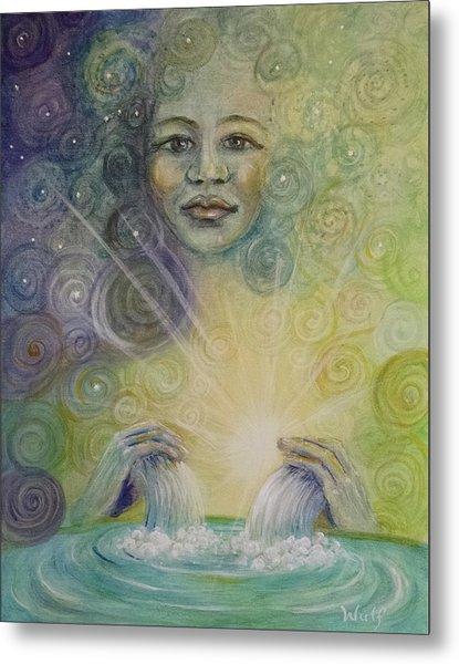 Yemaya - Water Goddess Metal Print