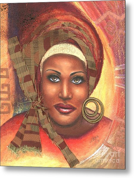 Yes . . . One Woman Can . . .  Metal Print