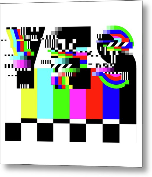 Metal Print featuring the digital art YES by Bee-Bee Deigner