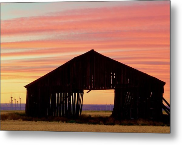 Yesterday And Today At Sunset Metal Print
