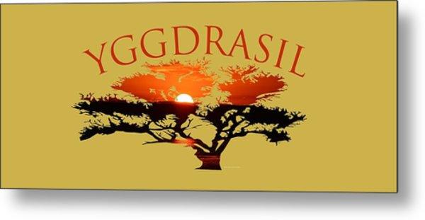 Yggdrasil- The World Tree Metal Print