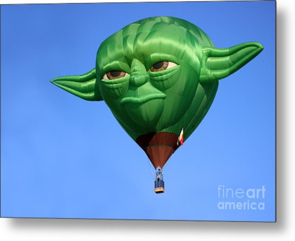 Yoda In The Sky Metal Print