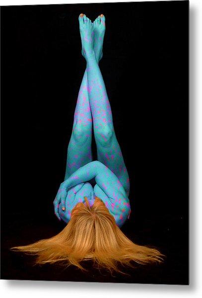 Yoga 2 Metal Print