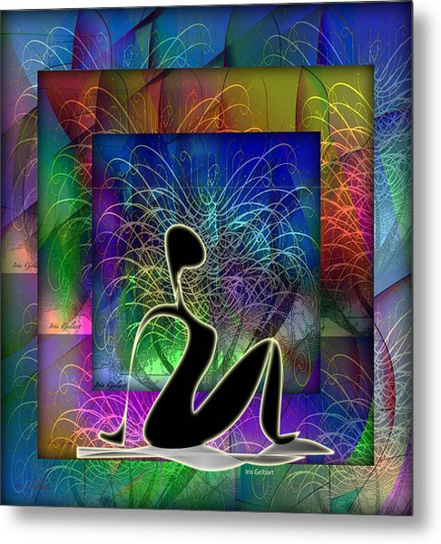 Yoga 6 Metal Print