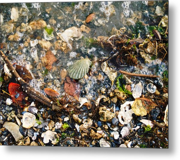 York Beach Shore Metal Print