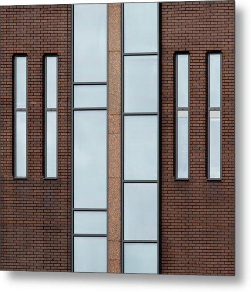 Yorkshire Windows 2 Metal Print