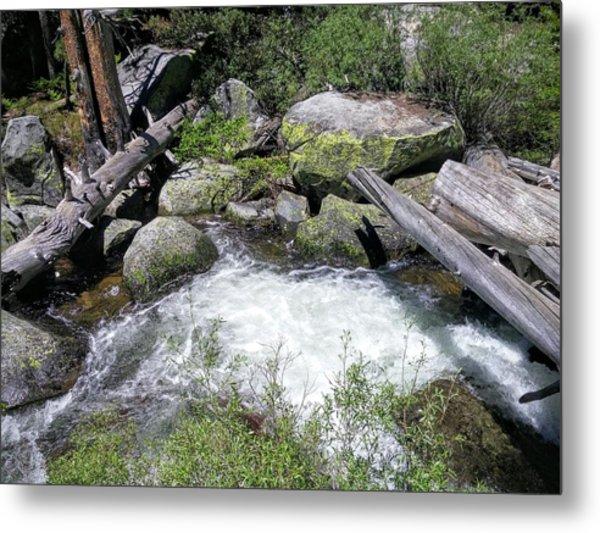 Yosemite Whitewater Metal Print