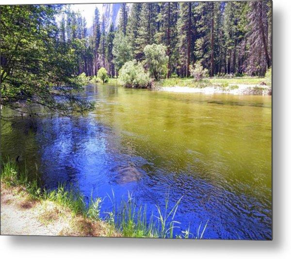 Yosemite River Metal Print