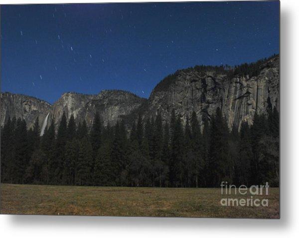 Yosemite At Night Metal Print by Richard Verkuyl