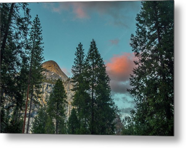 Yosemite Campside Evening Metal Print