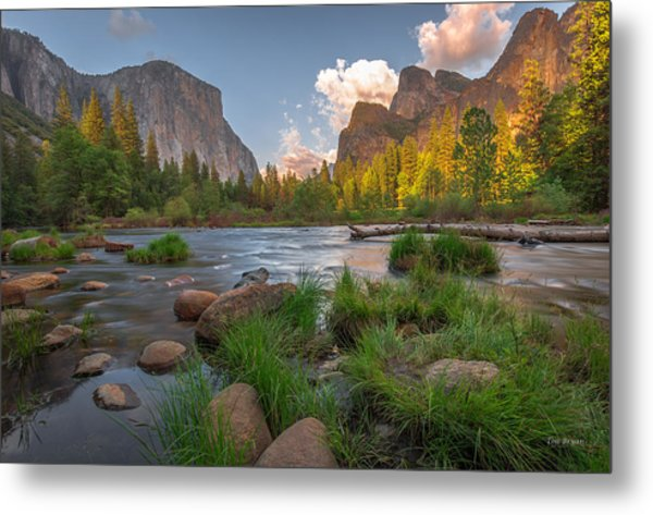 Yosemite Evening Metal Print