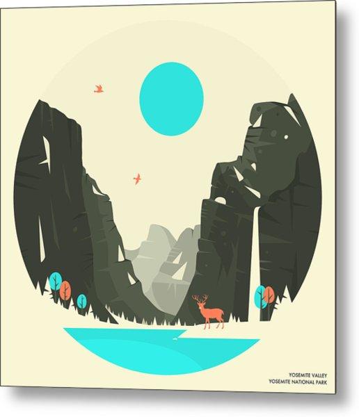 Yosemite Valley - 2 Metal Print