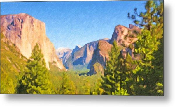 Yosemite National Park Metal Print