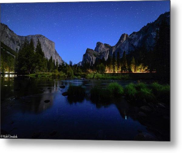Yosemite Nights Metal Print