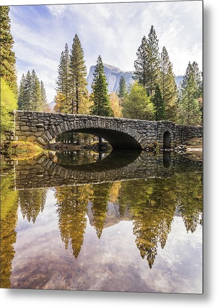 Yosemite Reflections Metal Print