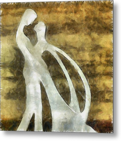 You And I 1 Metal Print