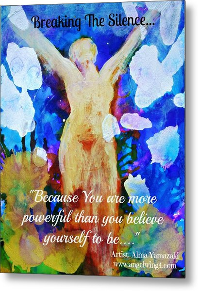 You Are Powerful Metal Print