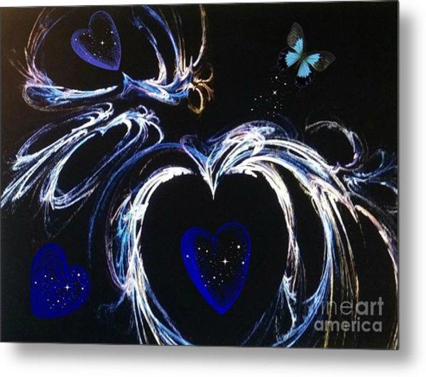 You Gave My Heart Wings Metal Print