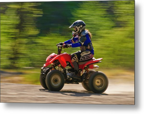 Metal Print featuring the photograph You Go Girl by Sherri Meyer