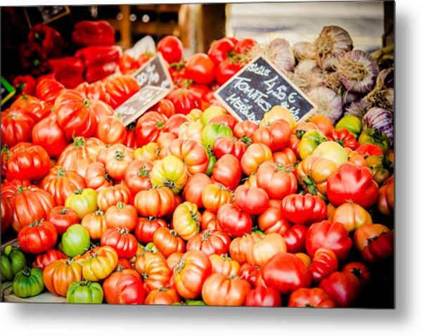 Metal Print featuring the photograph You Say Tomato by Jason Smith