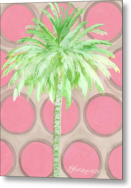 Your Highness Palm Tree Metal Print