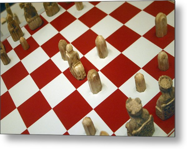 Your Move Metal Print by Jez C Self