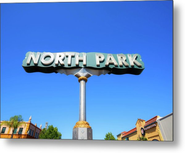 Welcome To North Park Metal Print