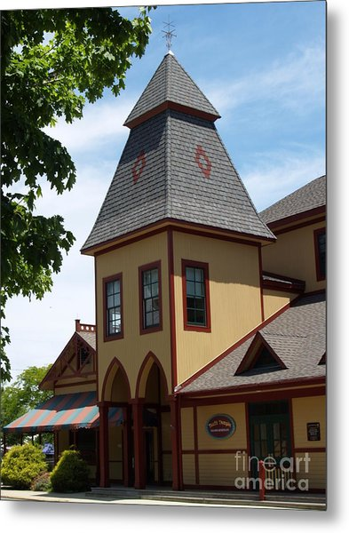 Youth Temple Of Ocean Grove New Jersey Metal Print