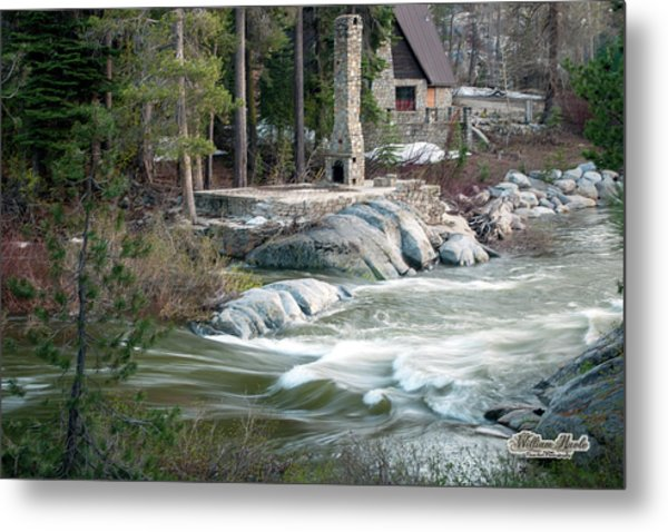 Metal Print featuring the photograph Yuba River At Rainbow Lodge by William Havle