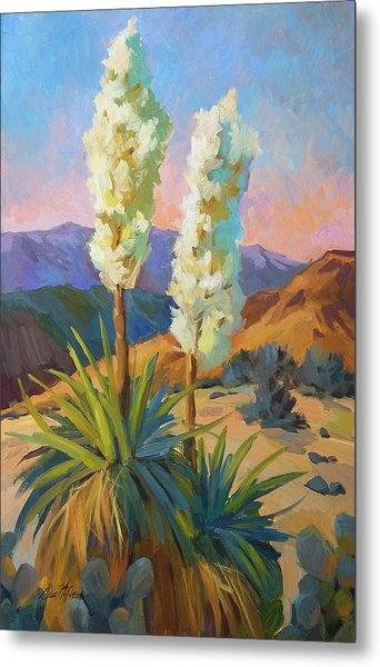 Yuccas Metal Print