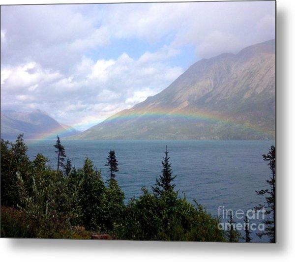 Yukon Rainbow Metal Print