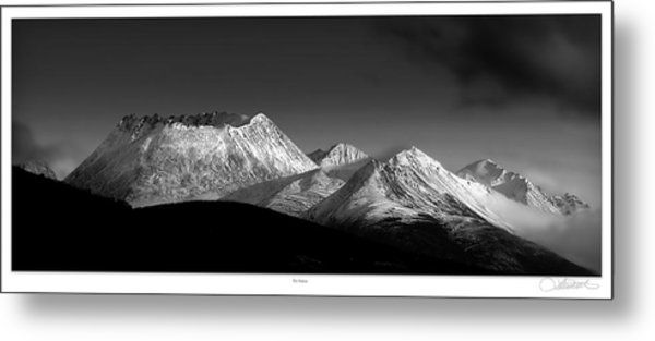 Yukon Volcano Metal Print by Lar Matre