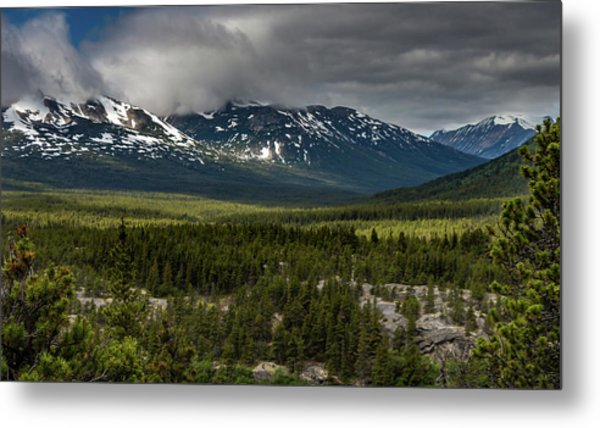 Yukon Wilderness Metal Print