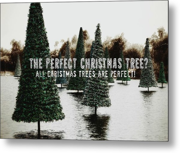 Yule Pool Quote Metal Print by JAMART Photography