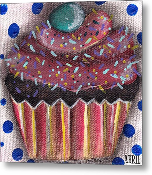 Yummy 5 Metal Print by  Abril Andrade Griffith