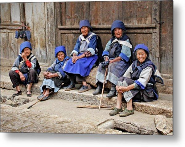 Yunnan Women Metal Print