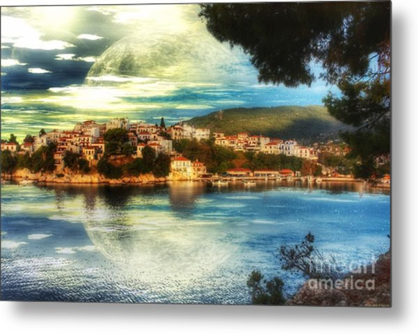 Yvonnes World Metal Print