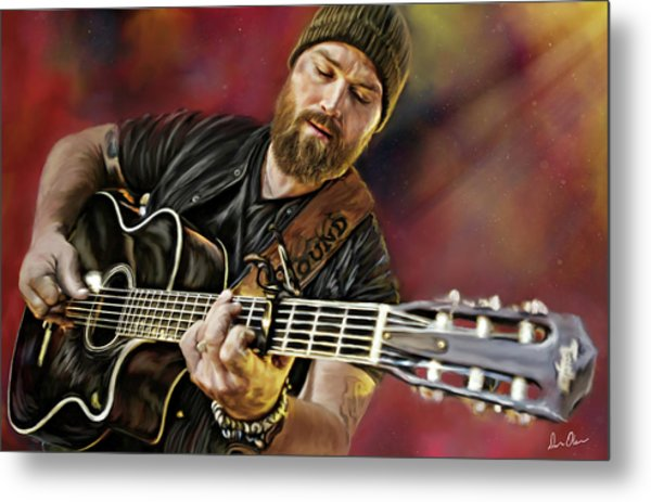 Zac Brown Metal Print
